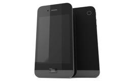 Moderne Mobiele telefoons Stock Afbeelding