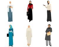 Moderne moslemische Frauen Stockbild