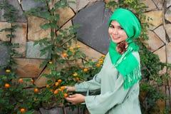 Moderne moslimmanier royalty-vrije stock afbeelding