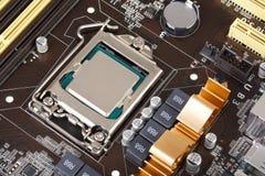 Moderne motherboard Royalty-vrije Stock Foto's