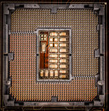 Moderne motherboard Stock Afbeelding