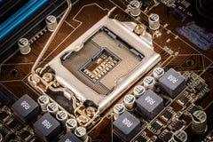 Moderne motherboard Royalty-vrije Stock Fotografie