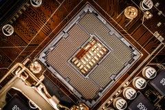 Moderne motherboard Stock Foto's