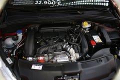 Moderne motor van een auto Royalty-vrije Stock Foto