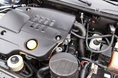 Moderne motor van een auto Stock Afbeelding
