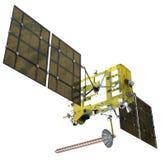 Moderne navigatiesatelliet Stock Fotografie