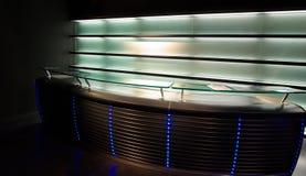 Moderne Neonstabbildschirmanzeige Stockbilder