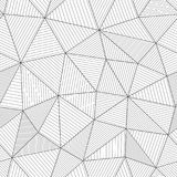 Moderne netwerktextuur met parallelle vezels Lichte zwart-wit stock illustratie