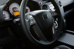 Moderne nieuwe auto stock foto's