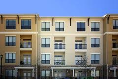De moderne flats van de Luxe (flatgebouw met koopflats) Stock Fotografie