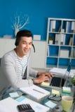 Moderne ondernemer Stock Foto