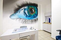 Moderne optometristdiopter stock foto