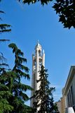 Moderne orthodoxe Auferstehungs-Kathedrale, Tirana, Albanien lizenzfreies stockbild