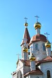 Moderne orthodoxe Kirche Lizenzfreie Stockfotografie