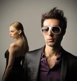 Moderne Paare Lizenzfreies Stockfoto