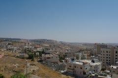 Moderne palästinensische Stadt Stockfotos