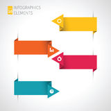 Moderne Pfeil infographics Elemente vektor abbildung