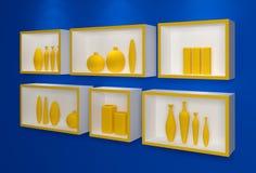 Moderne planken Royalty-vrije Stock Fotografie