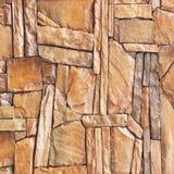 Moderne Platte, planen Steinwandhintergrund; Brown-Steinwand backg Stockbilder