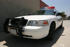 Moderne politiewagen Stock Foto