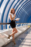 Moderne professionele onderneemster Royalty-vrije Stock Foto's