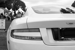 Moderne Rückseitenecke Astons Martin Lizenzfreies Stockbild