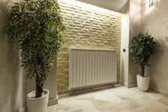 Moderne radiator Stock Afbeelding