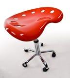 Moderne Rode Barkruk Stock Afbeeldingen