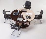 Moderne Rondetafel Stock Foto's