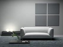 Moderne ruimte stock illustratie