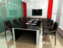 Moderne ruimte voor vergaderingen Royalty-vrije Stock Foto's