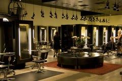 Moderne salon Stock Foto's