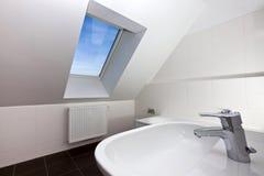 Moderne sanitair Stock Foto