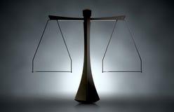 Moderne Schalen van Rechtvaardigheid Stock Foto's