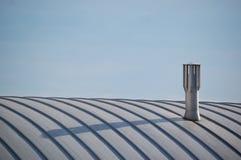 Moderne schoorsteen Stock Fotografie