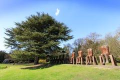 Moderne Skulptur im YSP Lizenzfreie Stockfotografie