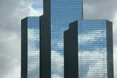 Moderne skyscapers in Parijs Royalty-vrije Stock Foto's