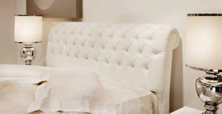 Moderne slaapkamer Stock Foto's