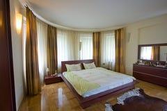 Moderne slaapkamer Royalty-vrije Stock Fotografie
