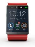 Moderne smartwatch Royalty-vrije Stock Afbeelding