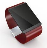 Moderne smartwatch Royalty-vrije Stock Afbeeldingen