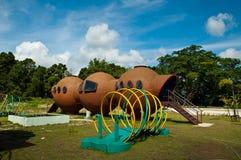 Moderne speelplaats voor kinderen Stock Fotografie