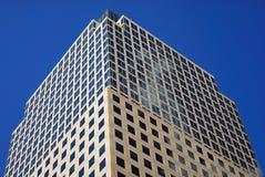 Moderne städtische Bürohaus Stockbild