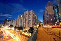 Moderne städtische Stadt Stockfoto
