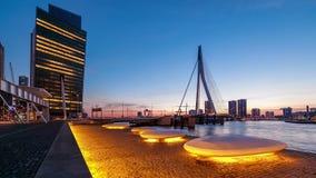 Moderne städtische Stadt-Lichter stock video footage