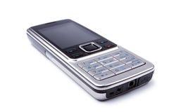 Moderne staal cel-telefoon Stock Afbeeldingen