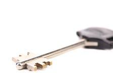 Moderne staal-plastic sleutel. Stock Fotografie