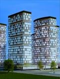 Moderne stad vector illustratie