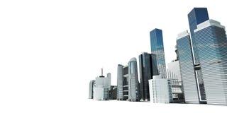 Moderne stad stock illustratie