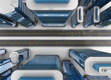 Moderne stad Stock Afbeelding